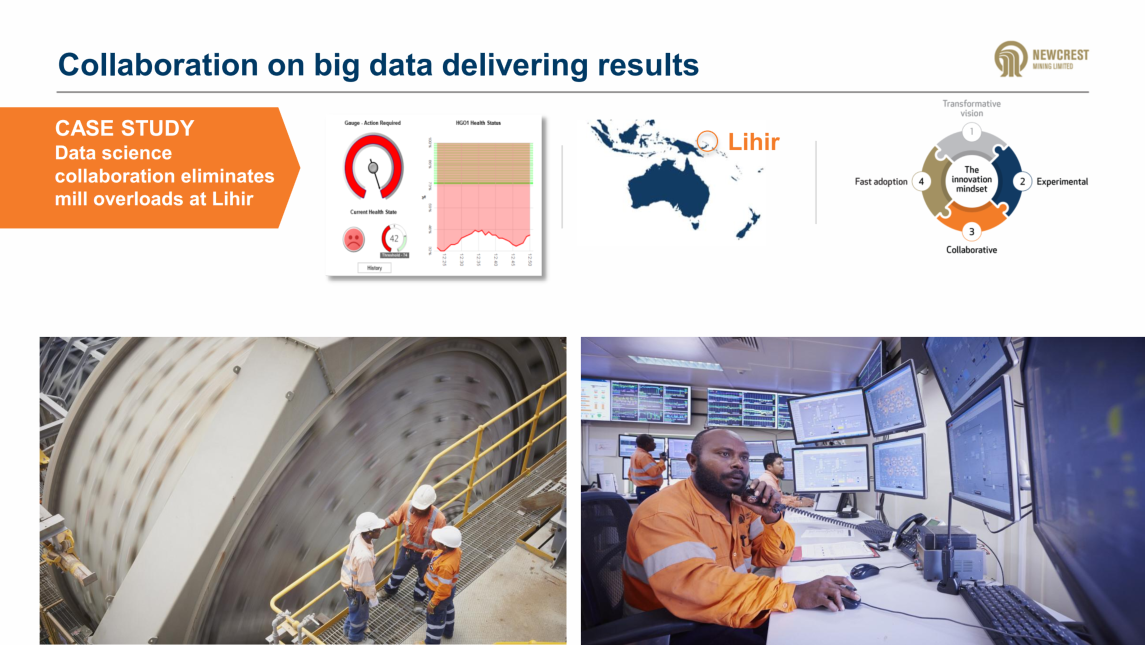 Newcrest-PETRA collaboration on big data delivers results | PETRA